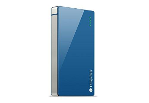 日本正規代理店品・保証付mophie powerstation 4000 高出力モバイルバッテリー ブルー MOP-BY-000034