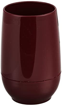 "Dinex DX119261 Urethane Foam Insulated Juice Cup, 2-39/64"" Diameter x 4-7/64"" Height, 6oz Capacity, Cranberry (Case of 24)"