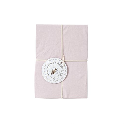 Burts-Bees-Baby-Organic-Solid-Crib-Sheet