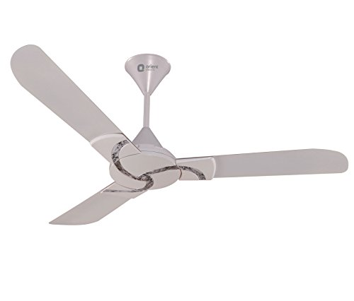 Orient 1200 mm Curl Pearl White Marble Ceiling Fan