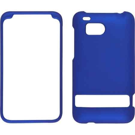 Wireless Solutions Soft Touch Snap-On Case For Htc Thunderbolt 4G (Blue)