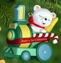 Baby's First Christmas 2000 Hallmark Keepsake Ornaments