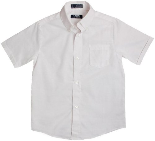 French Toast Boys School Uniforms Short Sleeve Oxford Shirt