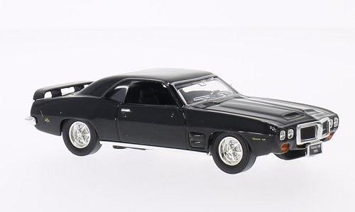 pontiac-firebird-trans-am-nero-1969-modello-di-automobile-modello-prefabbricato-lucky-la-cast-143-mo