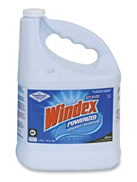 Windex Powerized Glass Cleaner with Ammonia-D - (1 Gal. Refill) (1 Bottle) - AB-750-1-59