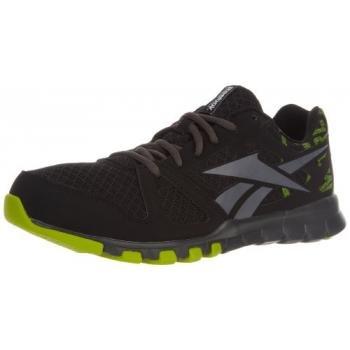 the best attitude 4a83a d23dc Reebok Men s SubLite Train 1 0 Cross Training Shoe Black Gravel Gusto Green  10 5 M US