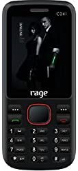 Rage C241 CDMA Mobile Phone(Black+Red) which comes with Digital Camera with Video recording, FM Radio
