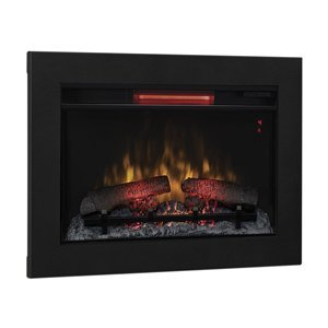 Classicflame 26-In Infrared Fireplace Insert & Flush Mount Conversion Kit - 26Ii310Gra & Bbkit-26