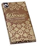 Divine Fairtrade Milk Chocolate Bar 100g Ref A06920