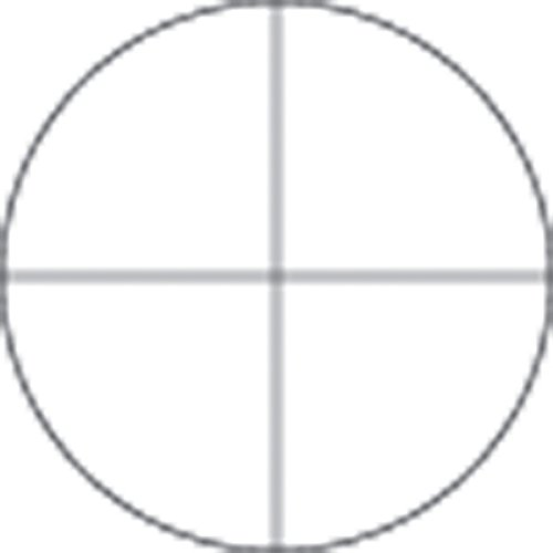 Microscope Eyepiece Reticle, Crosshair Pattern