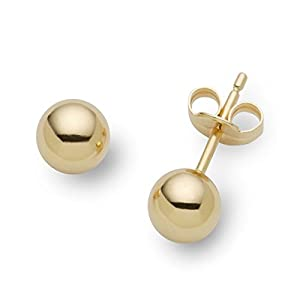 Miore-Joven MA100EY 18 ct Yellow Gold Studs Earrings