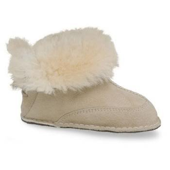 UGG Boo Infant Boot, Sand, Medium (4/5 Infant)