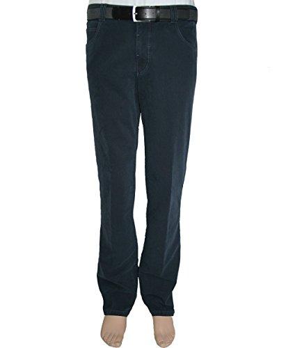 Meyer uomo pantaloni Stretch Dubai 2-3501 di colore grigio o blu