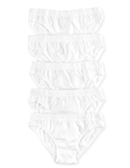 5 Pack Pure Cotton Slips