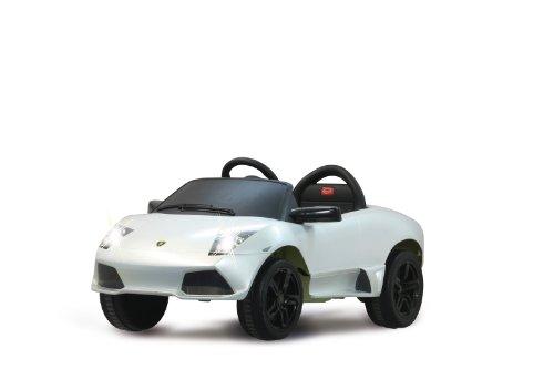 Jamara - 404613 - Maquette - Voiture - Ride On Car - Lamborghini Murciealago Lp 640-40 Roadster - Blanc - 6 Pièces
