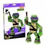 Paper Punk Teenage Mutant Ninja Turtle TMNT Donatello Pizza Build Your Own Paper Action Figure Toy Nickelodeon by Paper Punk