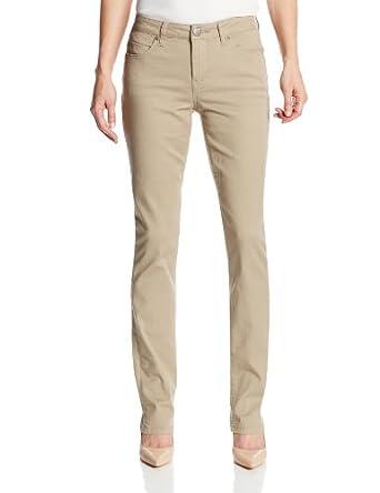 Liverpool Jeans Company Women's Sadie Straight-Leg Jean, White, 2 at