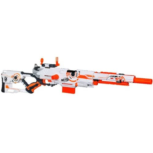 NERF N-STRIKE Limited Edition Whiteout Series Longstrike