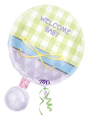 Personalized Baby Rattle front-1048213