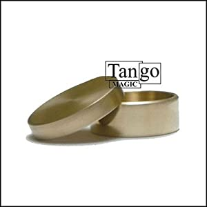 Okito Box Half Dollar (w/DVD) (B0005) by Tango Magic - Trick