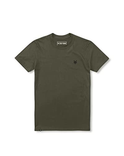 Zoo York Camiseta Manga Corta Bay Street Verde Militar