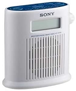 o Sony o - Shower AM/FM Weather Band Radi