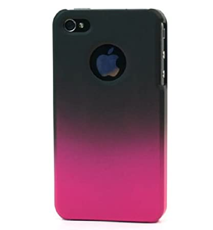 Kroo 12011 iPhone 4S Hard Shell Cover with Free Screen Protector - Combo Pack - Retail Packaging - Magenta