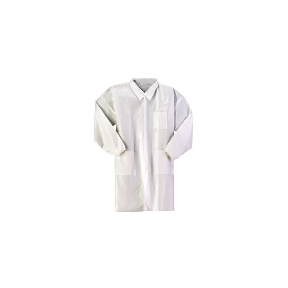 VWR Lab Coat Advanced ProtectionP MD WHT Case of 414004 on