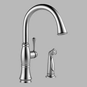 Amazon.com: Delta Faucet 4297-AR-DST Cassidy Single Handle