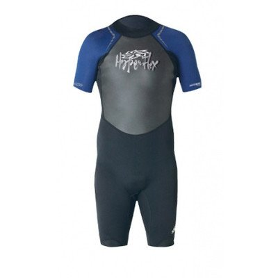 Hyperflex Wetsuits Men's Access 2.5mm Spring Suit,Black/Blue,X-Large