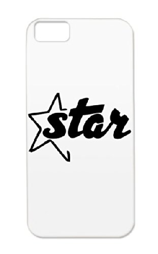 Durable Star Pop Party Hiphop Rock Rock And Roll Music Country House Sound Dance Electronica Records Sounds Music Headphones Dancer Metal Star Fun Jazz Rock`Nroll Disco Dance Classic R&Amp;B Dj Headphone Tpu Black Protective Hard Case For Iphone 5C
