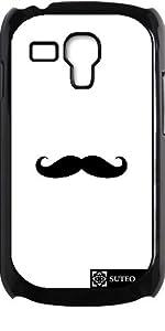 Coque pour Samsung Galaxy S3 mini - Moustache noire - ref 61