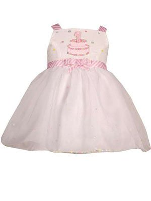 Baby Girls 1St Or 2Nd White Birthday Dress - 24M
