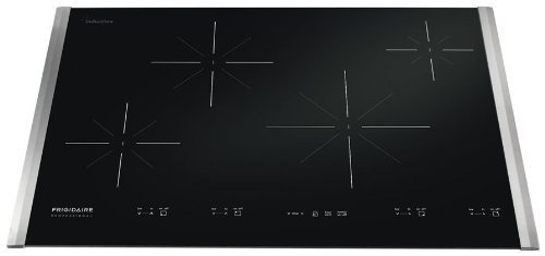 """Frigidaire Fpic3095Ms 30"""" Induction Cooktop With More Responsive And Versatile Induction Elements, Stainless Steel"""