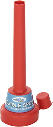 WirthCo 32157 Funnel King Flexible Spout Funnel with Cap (Quart Oil Bottle compare prices)