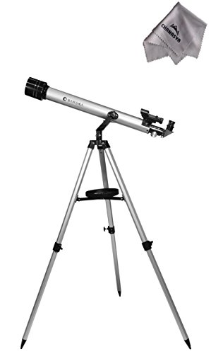 525 Power 70060 Starwatcher Telescope Ae10750 With Chanasya Polish Cloth Bundle