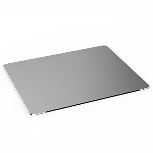 Mouse Pad, Jelly Comb Gaming Aluminium Mouse Pad W Non-slip Rubber Base & Micro Sand Blasting Aluminium Surface for Fast and Accurate Control (Aluminum Mouse Pad compare prices)