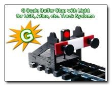 G Scale Buffer Stop DC DCC