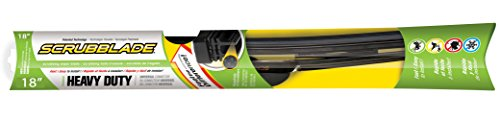 "Scrubblade Sb1800 Premium All-Season Windshield Wiper Blade, 18"" (Pack Of 1) front-74434"