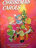 img - for Christmas Carols - Piano arrangements with chord symbols for organ and guitar book / textbook / text book