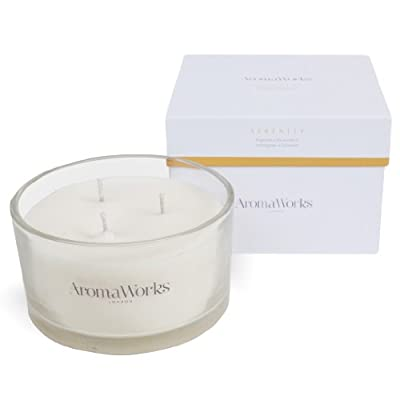 Aromaworks 3 Wick Serenity Scented Candle from AromaWorks
