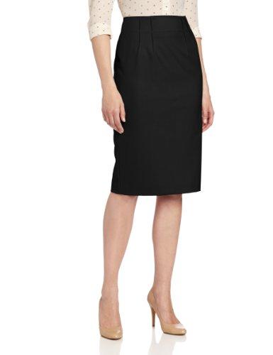 Jones New York Women's Front Slit Skirt