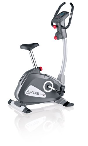Kettler Cycle M Exercise Bike (New Model) - Grey/Silver/White