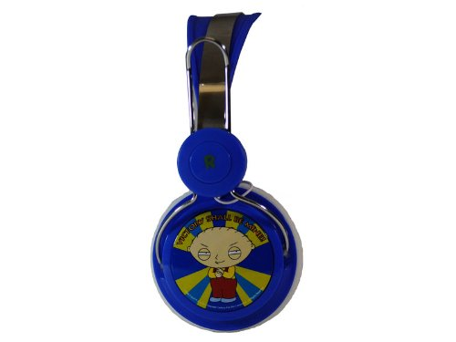 Audiology Fg4-17-2 Family Guy Stereo Headphones For Ipods, Iphones And Mp3 Players, Victory