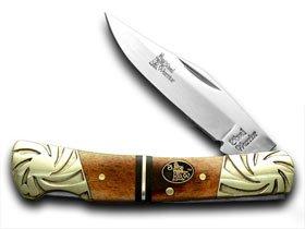 STEEL WARRIOR Mississippi River Bone Barracuda Pocket Knife Knives
