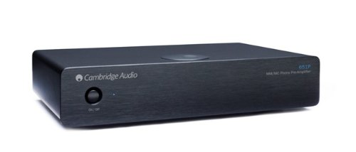 Cambridge - Azur 651P MM/MC Preamp (Black)