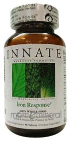 Iron Response 90 Tablets by Innate Response