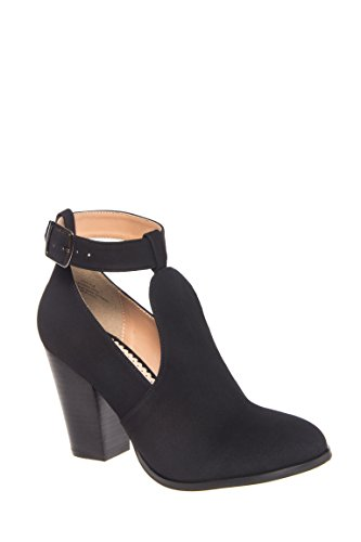 Work It High Heel Ankle Strap Bootie