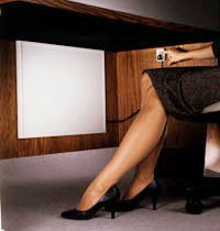 Cozy-Legs Personal Heater - Under Desk Leg Warmer - Without Stand