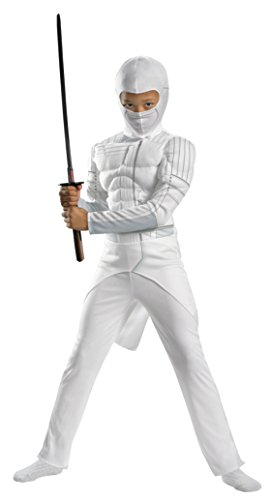 Boys Storm Shadow Classic Muscle Kids Child Fancy Dress Party Halloween Costume